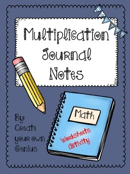 Multiplication Notes and Worksheets introduction