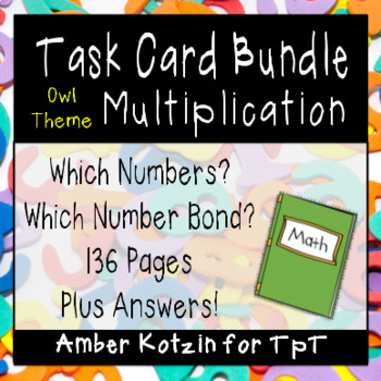 Multiplication Number Bond Bundle (Common Core Aligned)