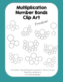 Multiplication Number Bond Clip Art Set