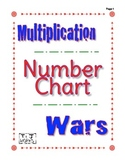 Multiplication Number Chart Wars