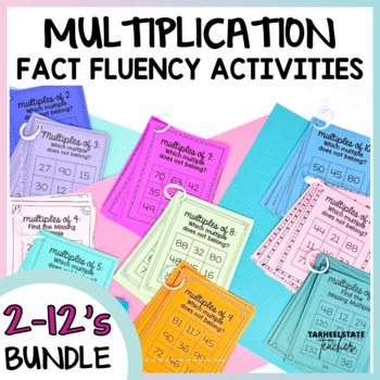 Multiplication Facts Intervention Bundle