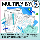 Multiplication Facts 5 Times Table Multiples of 5