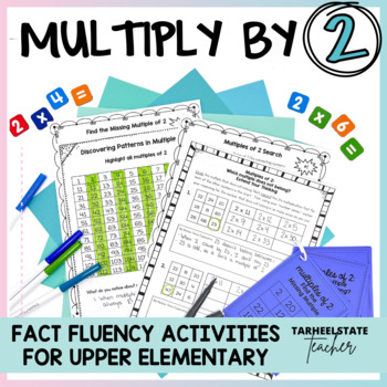 Multiplication Facts Doubles, 2 Times Table, Multiples of 2