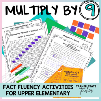 Multiplication Facts 9 Times Table Multiples of 9