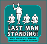 Multiplication + Number Sense + Luck = Last Man Standing Game!