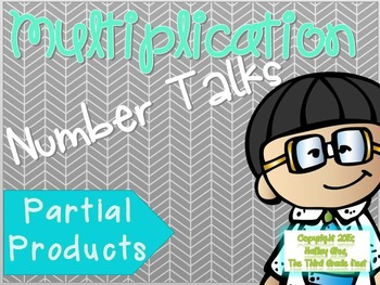 Multiplication Number Talks: Partial Products