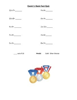 Multiplication Olympics