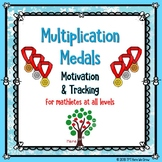 Multiplication Medals - Winter Olympics 2018