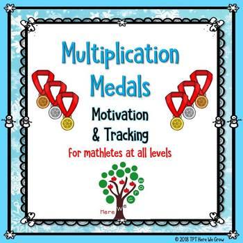 Multiplication Medals!