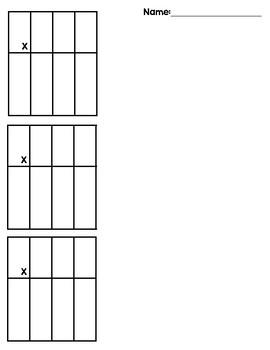Multiplication Organizer