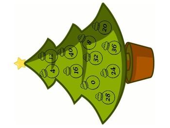 Multiplication Ornament Matchup
