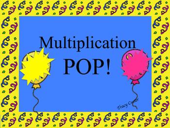 Multiplication POP!