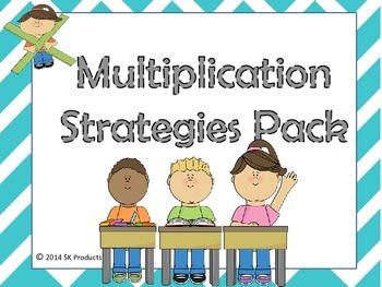 Multiplication Strategies Pack