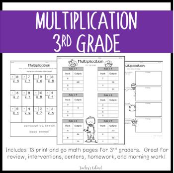 Multiplication Pack {3.OA.1}