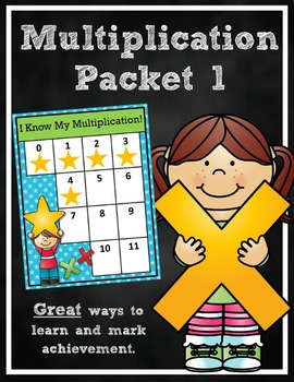 Multiplication Packet 1