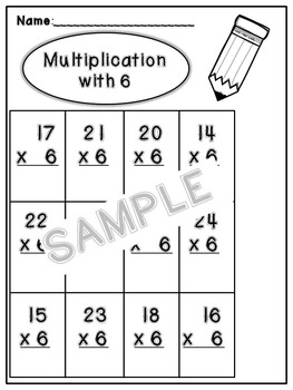 Multiplication Packet
