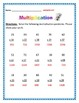 Multiplication Packet - Common Core - Answer key included.