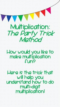 Multiplication Party Strategy Trick
