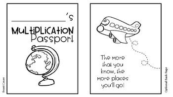 Multiplication Passport!