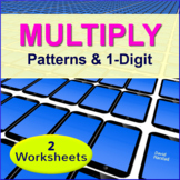 Multiplication: Patterns & One Digit