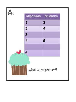 Multiplication Patterns Room Hunt