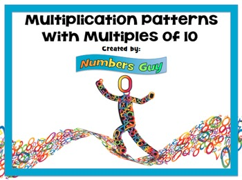 Multiplication: Patterns with Multiples of 10 (Part of Multiplication Unit)