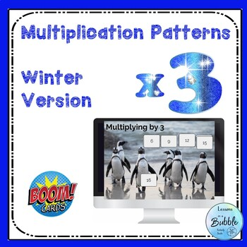 Multiplication Patterns x 3  Boom Learning