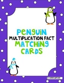 Multiplication Penguin Matching Cards  ( Memory , Centers )