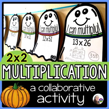Multiplication Pennant with a ghost theme