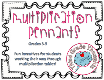 Multiplication Pennants