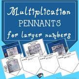 Multiplication Pennants with larger numbers