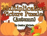 Multiplication Picture Puzzles {Autumn}