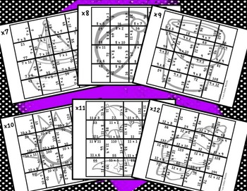 Multiplication Picture Puzzles {Beach and Summer}