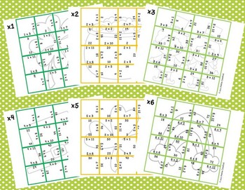 Multiplication Picture Puzzles {St. Patrick's Day}