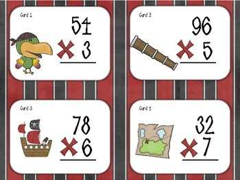 Multiplication Pirates