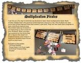 Multiplication Pirates, Building Multiplication Fluency, M