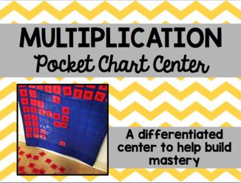 Multiplication Pocket Chart Center