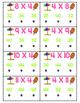 Multiplication Poke Cards Self-Checking Flash Cards