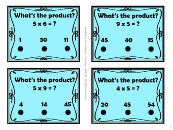 Multiplication Poke and See