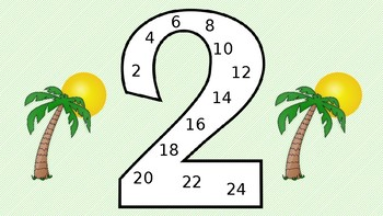 Multiplication Posters - Luau/Hawaiian Theme