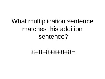 Multiplication Power Point