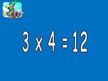 Multiplication PowerPoint 3s- Winter Theme