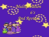 Multiplication PowerPoint 6s