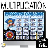Multiplication Game Show: An Editable Multiplication Revie