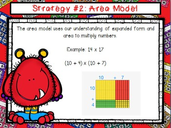 Multiplication PowerPoint & Note Taker