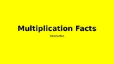 Multiplication PowerPoint to accompany Factors Lessons