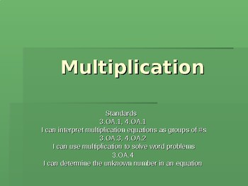 Multiplication Powerpoint