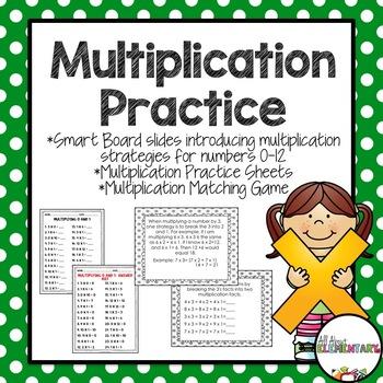 Multiplication Practice {Strategies and Practice Activities}