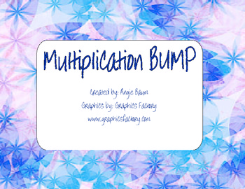 Multiplication Practice BUMP Game