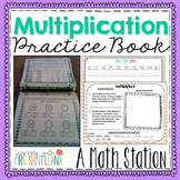 Multiplication Practice Book